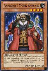 Anarchist Monk Ranshin - BP02-EN092 - Common - Unlimited on Channel Fireball