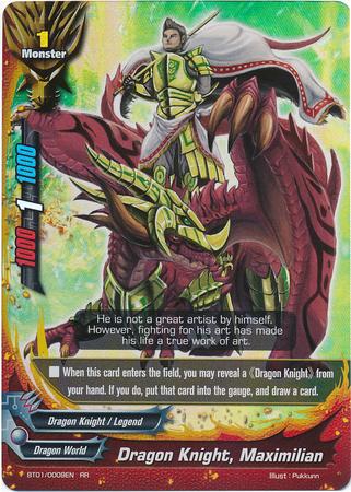 Dragon Knight, Maximilian - BT01/0009 - RR