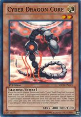 Cyber Dragon Core - SDCR-EN001 - Super Rare - 1st Edition on Channel Fireball