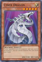Cyber Dragon (White) - SDCR-EN003 - Common - 1st Edition