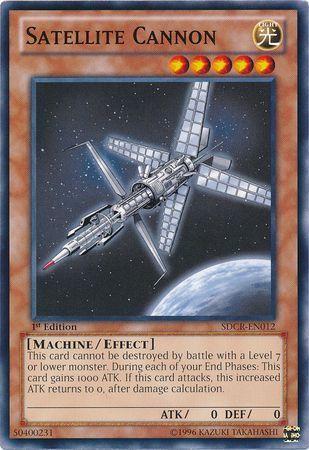 Satellite Cannon - SDCR-EN012 - Common - 1st Edition
