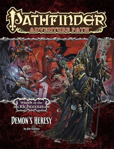 Pathfinder Adventure Path #75: Demons Heresy (Wrath of the Righteous 3 of 6)