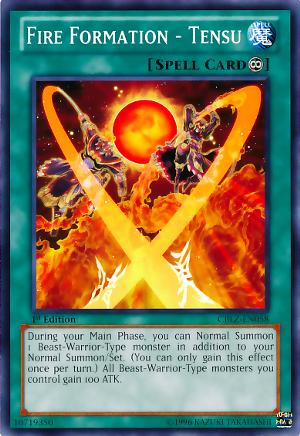 Fire Formation - Tensu - AP04-EN012 - Super Rare - Unlimited Edition