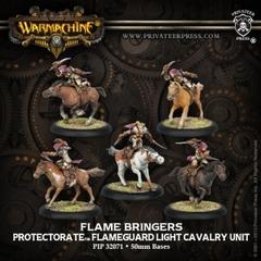 Flame Bringers - Flameguard Light Cavalry Unit (5)