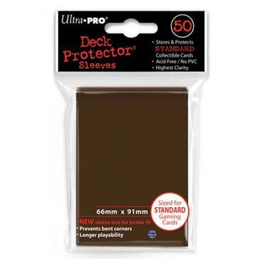 50ct Brown Standard Deck Protectors