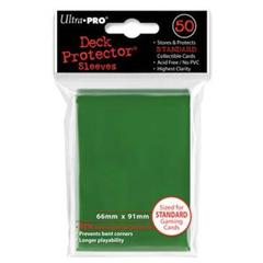 Green Standard Deck Protectors - 50ct