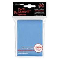 Light Blue Standard Deck Protectors - 50ct