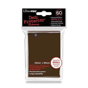 60ct Brown Small Deck Protectors