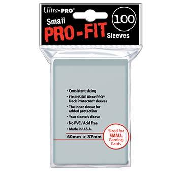 Pro-Fit Small Size Deck Protectors 100ct