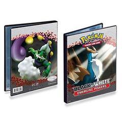Black & White Gen 2 4-Pocket Portfolio for Pokemon