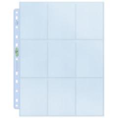 9-Pocket Platinum Page for Standard Size Cards (11-Holes)