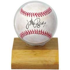 Baseball Light Wood Holder