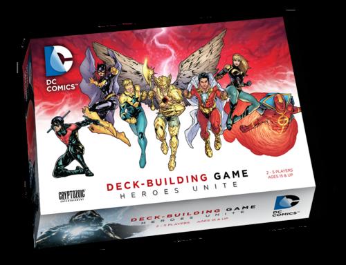 DC Comics Deck-Building Game - Heroes Unite