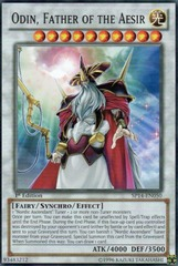 Odin, Father of the Aesir - SP14-EN050 - Starfoil Rare - 1st Edition on Channel Fireball