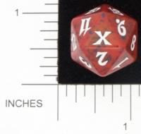 Magic Spindown Die - 10th Edition - Red