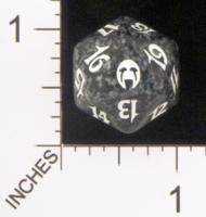 Magic Spindown Die - Apocalypse - Black
