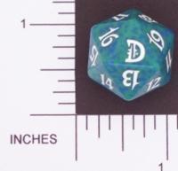 Magic Spindown Die - Deckmasters - Green