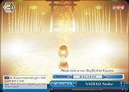 NADEKO Snake - BM/S15-098 - CR