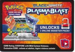 Plasma Blast Booster Pack Code Card