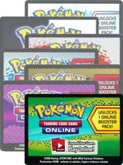Random Pokemon Online Booster Pack Code Card