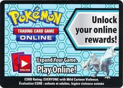 Kyurem Collection Box Unused Code Card