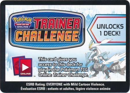 Boundaries Crossed White Kyurem Theme Deck Code Card