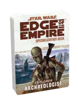 uSWE39 - Edge of the Empire: Archaeologist Specialization Deck