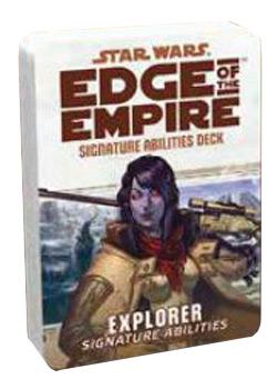 uSWE42 - Edge Of The Empire: Explorer Signature Abilities Deck