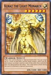 Kuraz the Light Monarch - Blue - DL16-EN004 - Rare - Unlimited Edition on Channel Fireball