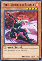 Rose Warrior of Revenge - Red - DL16-EN005 - Rare - Unlimited Edition