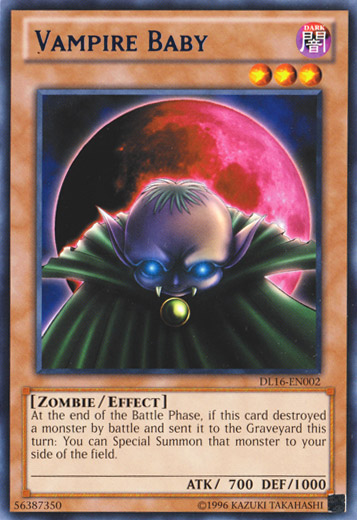 Vampire Baby - Blue - DL16-EN002 - Rare - Unlimited Edition