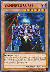 Vampire's Curse - Red - DL16-EN003 - Rare - Unlimited Edition
