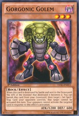 Gorgonic Golem - LVAL-EN011 - Common - Unlimited