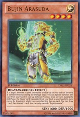 Bujin Arasuda - LVAL-EN026 - Ultra Rare - Unlimited on Channel Fireball