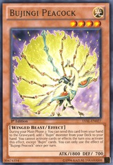 Bujingi Peacock - LVAL-EN027 - Rare - Unlimited on Channel Fireball