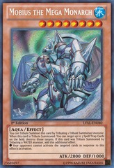 Mobius the Mega Monarch - LVAL-EN040 - Secret Rare - Unlimited on Channel Fireball
