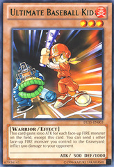 Ultimate Baseball Kid - Green - DL15-EN003 - Rare - Unlimited Edition