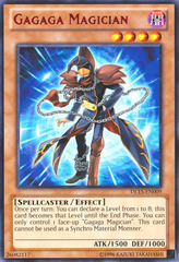 Gagaga Magician - Red - DL15-EN009 - Rare - Unlimited Edition