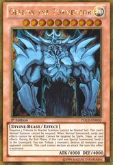 Obelisk the Tormentor - PGLD-EN030 - Gold Secret Rare - 1st Edition