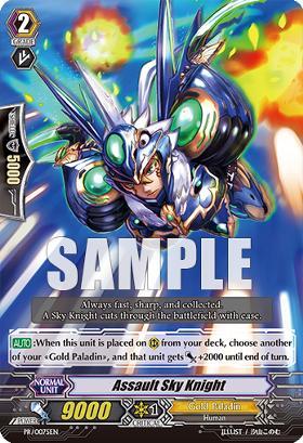 Assault Sky Knight - PR/0075EN - PR