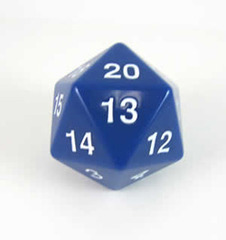 Jumbo Spindown D20 55mm Blue