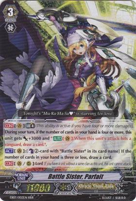 Battle Sister, Parfait - EB07/002EN - RRR
