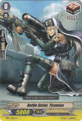 Battle Sister, Tiramisu - EB07/031EN - C