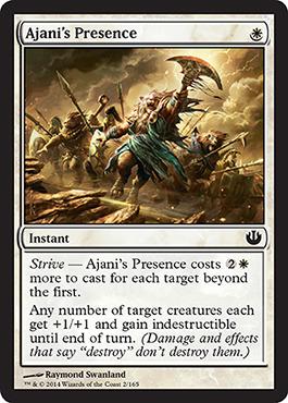 Ajani's Presence - Foil