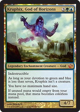 Kruphix, God of Horizons - Foil