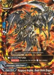 Purgatory Knights, Death Sickle Dragon - CP01/0001 - RRR+SP