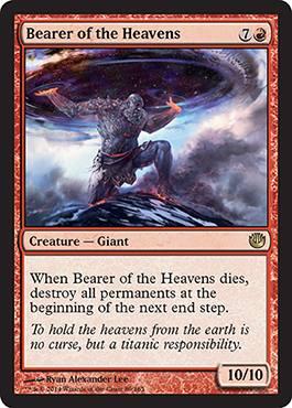 Bearer of the Heavens - Foil