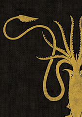 Art Sleeves - House Greyjoy 50 ct