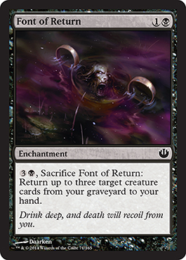 Font of Return - Foil