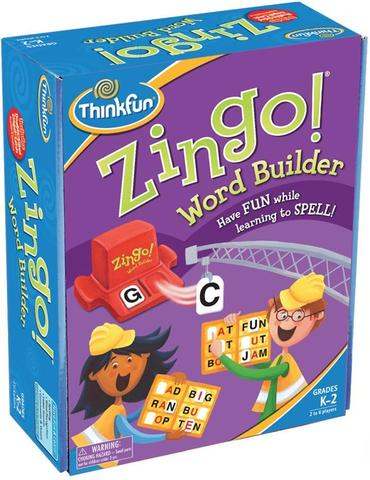 Zingo! Word Builder